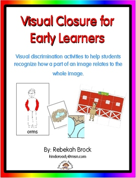 Visual Closure: 3 Activities to Develop Visual Perception
