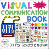 Visual Communication Book - Nonverbal Autism