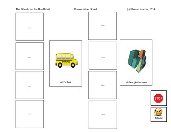 Visual Communication pack: Wheels on the Bus
