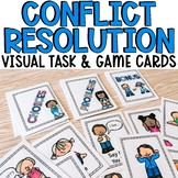 Visual Conflict Resolution Task Cards for Lower Elementary