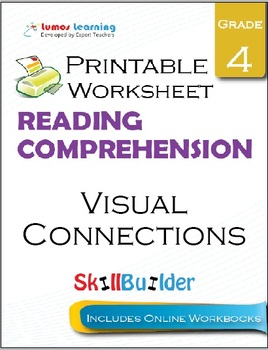 Visual Connections Printable Worksheet, Grade 4
