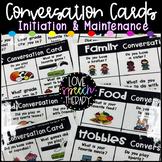 Visual Conversation Cue Cards