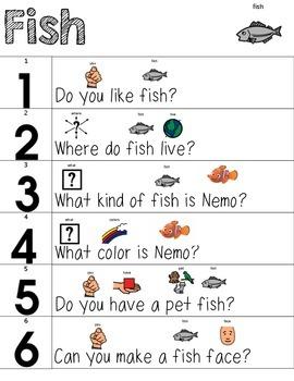 Visual Conversation Support: Fish
