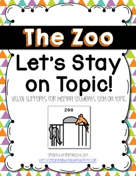 Visual Conversation Support: The Zoo