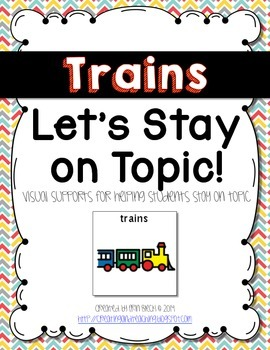 Visual Conversation Support: Trains
