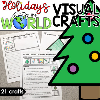 Visual Crafts for Holidays Around the World | Christmas Holiday Crafts