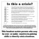 Visual Crisis Scaling Handout: CBT, DBT