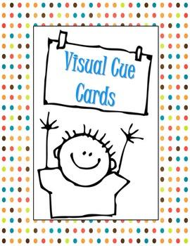 Behavior Visual Cue Cards