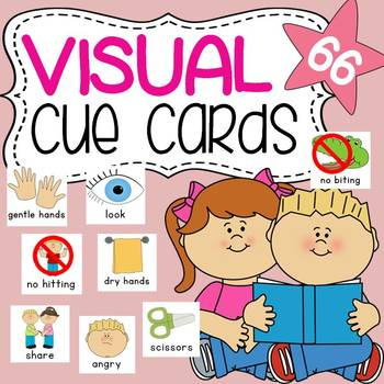 photo regarding Visual Cue Cards Printable referred to as Visible Cue Playing cards - 66!
