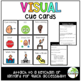 Visual Cue Cards - Lanyards
