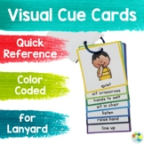 Visual Cue Cards: Quick Reference for Lanyard
