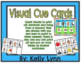 Visual Cue Cards and behavior reminders