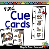 Visual Cue Cards for the Early Childhood Classroom
