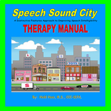 Visual Cueing System for Unintelligible Speech:  Therapy Manual BUNDLE!