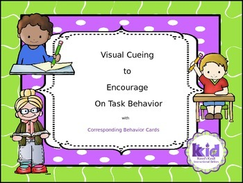 Visual Cueing for  Positive Behavior Change