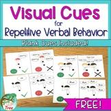 Visual Cues for Repetitive Verbal Behavior