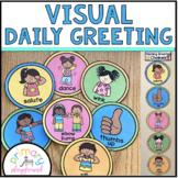 Visual Daily Morning Greeting Cards