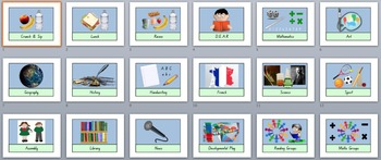 Daily Planner Picture Cards (Visual Schedule)