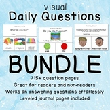 Visual Daily Questions BUNDLE! Over 700 questions for spec