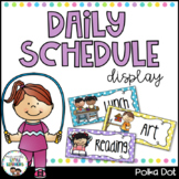 Daily Schedule - Polka Dot