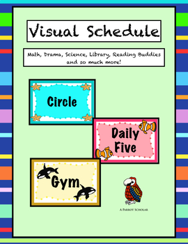 Visual Daily Schedule with Sea Creatures