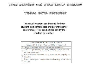 Visual Data Recorder for Star Reading and Star Early Literacy