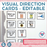 Visual Direction Cards EDITABLE
