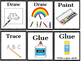 Visual Direction Cards For The Classroom (160 plus cards)