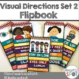 Visual Direction Cards  Set 2 (Autism)