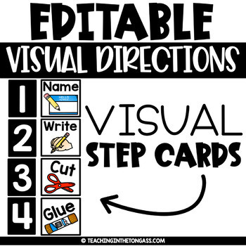 Visual Direction Cards Free