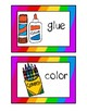 Visual Direction Cards with Numbers