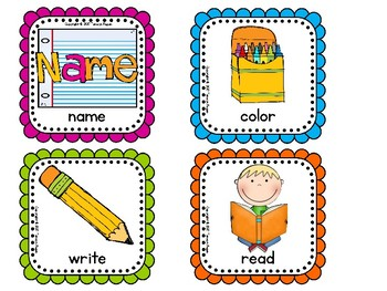 Visual Direction Cue Cards