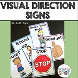 Visual Direction SIGNS (Autism)