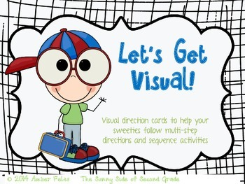 Visual Directions & Activity Sequencing FULL PRODUCT