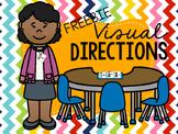 Visual Directions FREEBIE