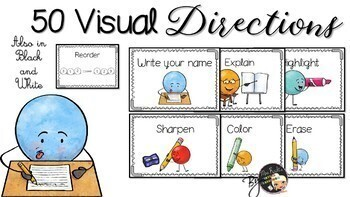 Visual Directions Flashcards