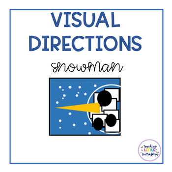 Visual Directions: Make Your Own Snowman Face