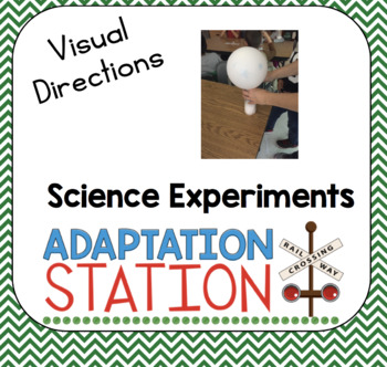 Visual Directions Science Experiments Growing Bundle
