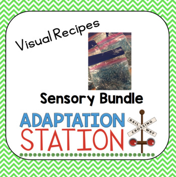 Visual Directions: Sensory Recipes Edition Growing Bundle