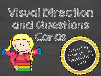 Visual Directions and Questions Cards