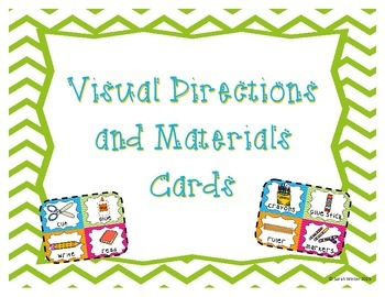 Visual Directions/Materials Cards