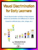 Visual Discrimination: 2 Activities to Develop Visual Perception