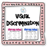 Visual Discrimination Matching Pack