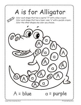 Find the Letter! Alphabet Coloring Worksheets