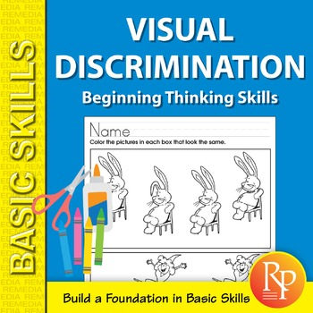 Visual Discrimination: Beginning Thinking Skills