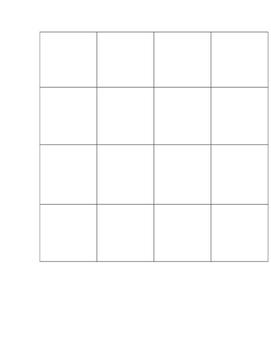 Visual Discrimination Bug Grid