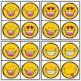 Visual Discrimination Clip Cards • Smiley Faces