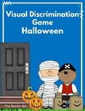 Visual Discrimination Game-Halloween