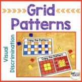 Visual Discrimination Grid Patterns