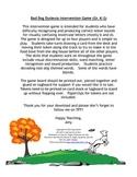 Visual Discrimination Intervention Bad Dog Game (Gr. K-2,